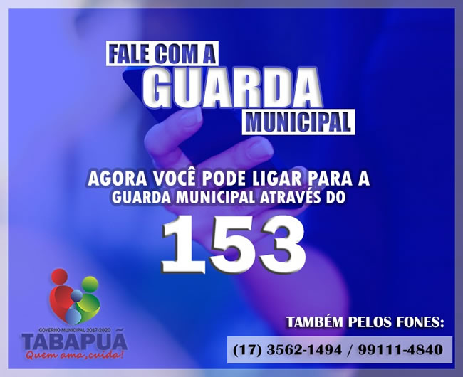 Guarda Municipal de Tabapuã